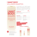 Kép 2/2 - I Want Body - volumennövelő sampon 300 ML