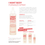 Kép 2/2 - I Want Body Texture Spray - volumennövelő spray 175 ML