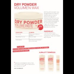 Kép 2/2 - Dry Powder - Volument adó, Szárazsampon és Wax 85 gr