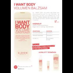 Kép 2/2 - I Want Body - volumennövelő balzsam 300 ML