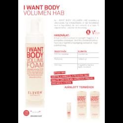 Kép 2/2 - I Want Body - volumennövelő hab 200 ML