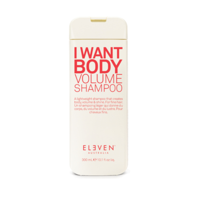 I Want Body - volumennövelő sampon 300 ML