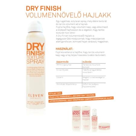 Dry Finish Textura Spray - Volumennövelő hajlakk