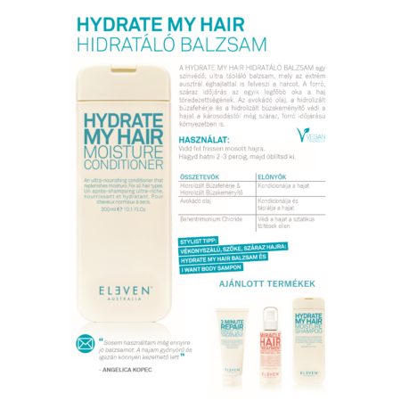 Hydrate My Hair - hidratáló balzsam 500ml