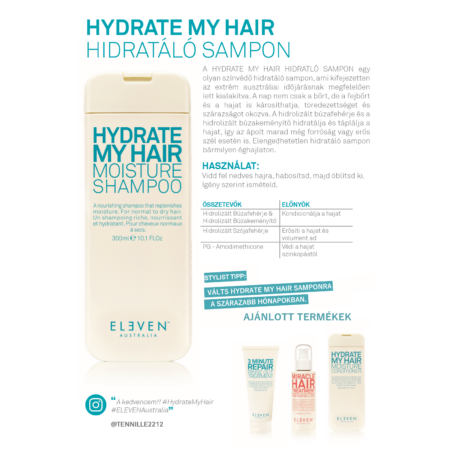 Hydrate My Hair - hidratáló sampon 300 ML